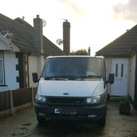 FOR SALE FORD TRANSIT 55 PLATE SPAIRS OR REPAIRS