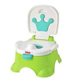 Fisher-Price Royal Potty Stool-Musical-Brand New