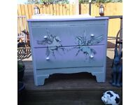 Two drawer Unicorn 🦄 chest of drawers