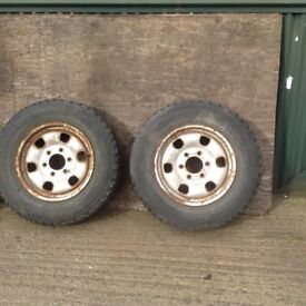 Ford Ranger or Mazda 4 x 4 wheels