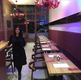 Turkish restaurant/bar for sale with amazing shisha garden space!