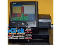 POS Touchscreen Sam4s SPS-2000 Touchscreen Till 4 Retail Restaurant Cafe Fast Food Cash Register