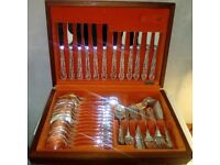 Oneida cutlery set Silver plated 68 pieces