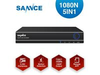 SANNCE 8CH 1080N 5IN1 Output DVR Recorder CCTV Security Surveillance