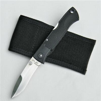BLACKJACK Japan FM II Folding Mamba lockback knife, orig sheath; rare UNUSED