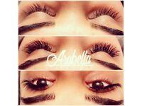 Individual Mink & Russian volume eyelash extensions