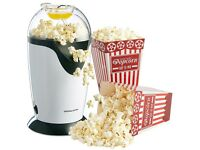 Andrew James Hot Air Popcorn Maker With 8 Popcorn Boxes
