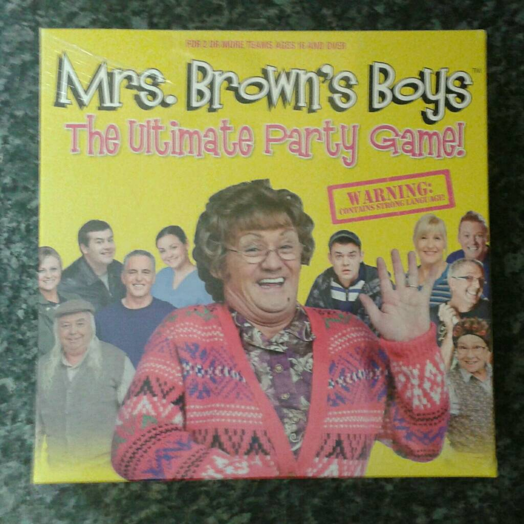 NEW - Mrs Brown's Boys - Ultimate Party Game AGE 16+