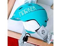 New Marker ski 🎿 🏂 skiing snowboarding snowboard snow helmet hat s 51-55