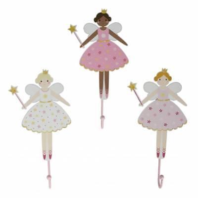 en Fee Elfe Prinzessin rosa pink Kleiderhaken Garderobe Kind (Belle Kleid Für Mädchen)
