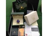 £75 Rolex Submariner AAA Swiss ETA Ceramic Bezel GMT master II Box Papers