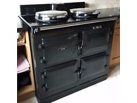 RARE AGA GC3 3 Oven Cooker Pewter Natural Gas Power Flue AIMS Programmable under 4 yr old £5000 ono