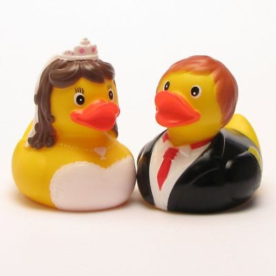 Rubber Duck Bride and Groom 1 - Bride And Groom Rubber Ducks
