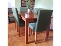 Dining table and chairs - great for parties
