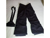 Women's or 12-years old ski trousers
