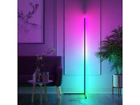 Floor Lamp Colour Changing 140cm LED RGB Corner Lamp with Dimmable Remote Controller
