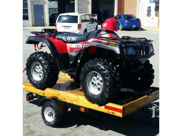 Used 2004 Arctic Cat 500 Manual