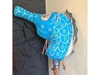 Traditional Hobby Horse by Dobbin and Drum (seahorse) RRP £89.99 selling at just £25