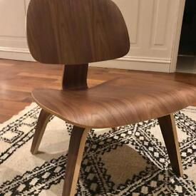 Eames Lounge Chairs x2 Swivel UK reproductions