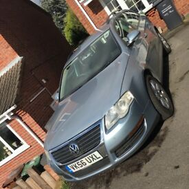 2006 VW VOLKSWAGEN PASSAT 2.0 TDI ESTATE DIESEL MANUAL, MOT until JULY 2018 GOOD & RUNNING WELL