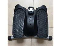 Reebok Stepper. Adjustable resistance dial. Rubber feet to protect floor. Large, stable foot plates