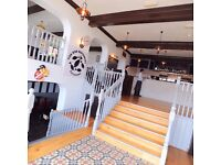 Chefs/kitchen assistants for fish and chips restaurant