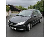 2006 Peugeot 206 *MOT'd to January 2018, £30 road tax, 1.4L Diesel, 2 keys*