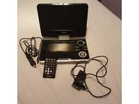 Portable Lenco DVD player