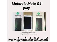 Motorola Moto G4 play Unlocked Boxed
