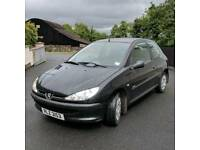 2006 Peugeot 206 *MOT'd to January 2019, 1.4L Diesel, £30 Road Tax*