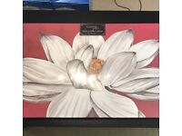 Large Flower Canvas (Brand New)