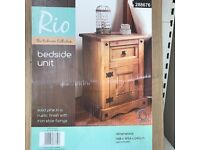 Rio Bedside Chest (Brand New)