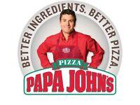 Delivery Driver - Shrewsbury Papa John's