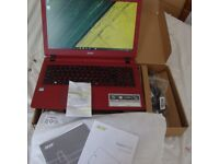Acer Aspire ES15 Laptop New in the box with receipt cost £280 want £225 with a years warranty
