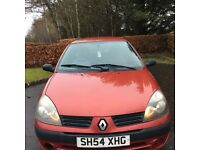 Renault Clio 54 plate three door