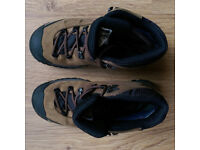 Women's brown trekking hiking walking boots. Garmont Sitka XCR. Used only once.