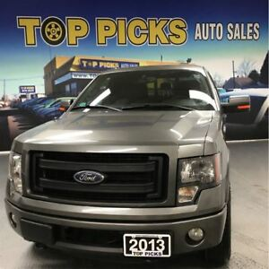 2013 Ford F-150 FX4, Super Cab, 4x4, 18 Wheels, Sunroof!