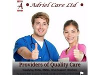 ADRIEL CARE LIMITED. WE CURRENTLY RECRUITING CARERS AND REGISTERED NURSES TO JOIN OUR TEAM