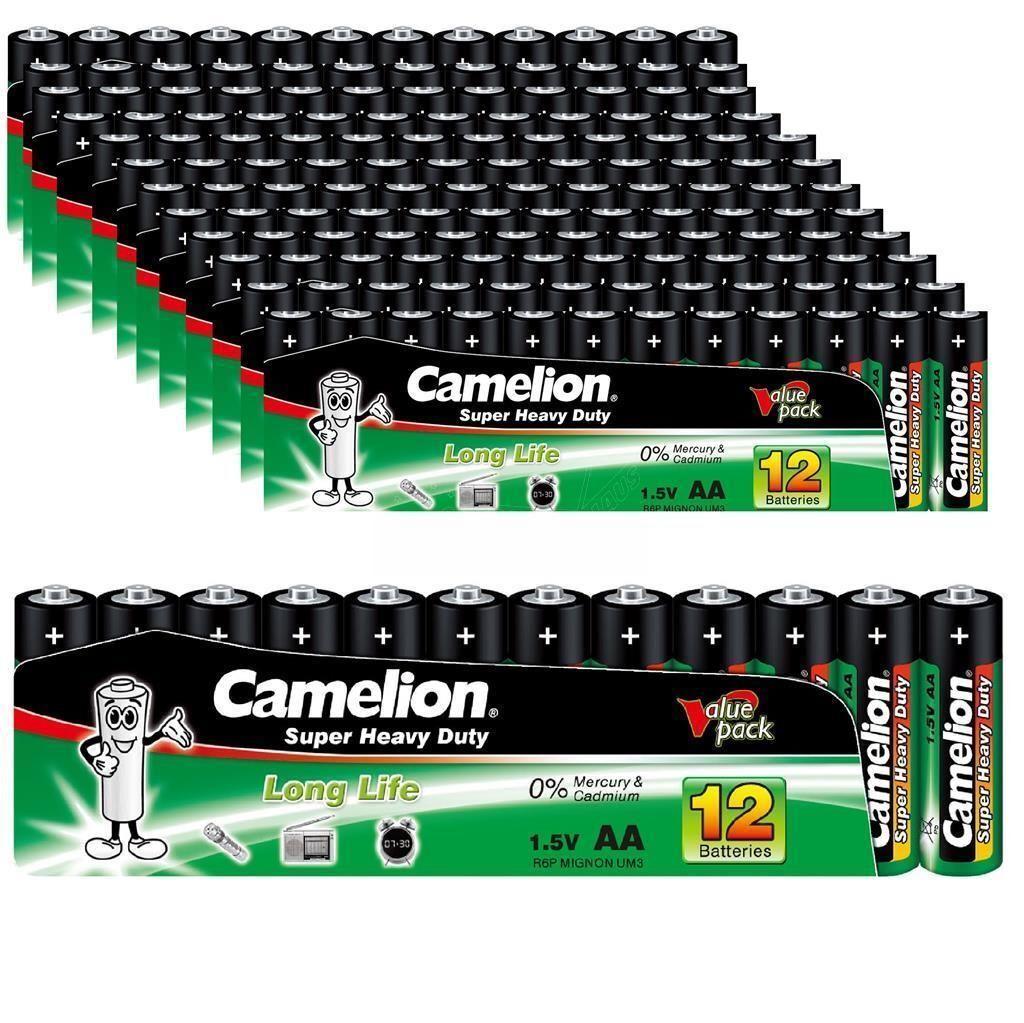 120 x Batterie Camelion AA Mignon 1,5 Volt Batterien R6 R06