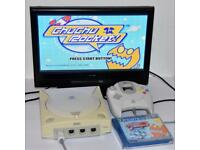 Sega Dreamcast Console with Power lead, Controller & Games