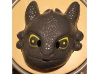 Plastic Toothless How To Train Your Dragon Costume Mask