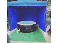 Party hot tub for hire