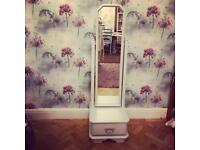 Full length mirror with drawer