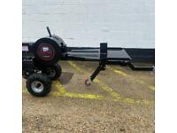 Black Tools JR 34 ton kinetic Log Splitter horizontal