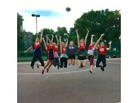 Back to Netball in Clapham South