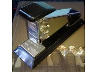 Vintage Retro Metal Rapid 8 Stapler - Made in Sweden - Industrial Chic