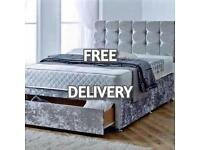🛏 New LUXURY BEDS * Made to order * with FREE DELIVERY & HEADBOARD