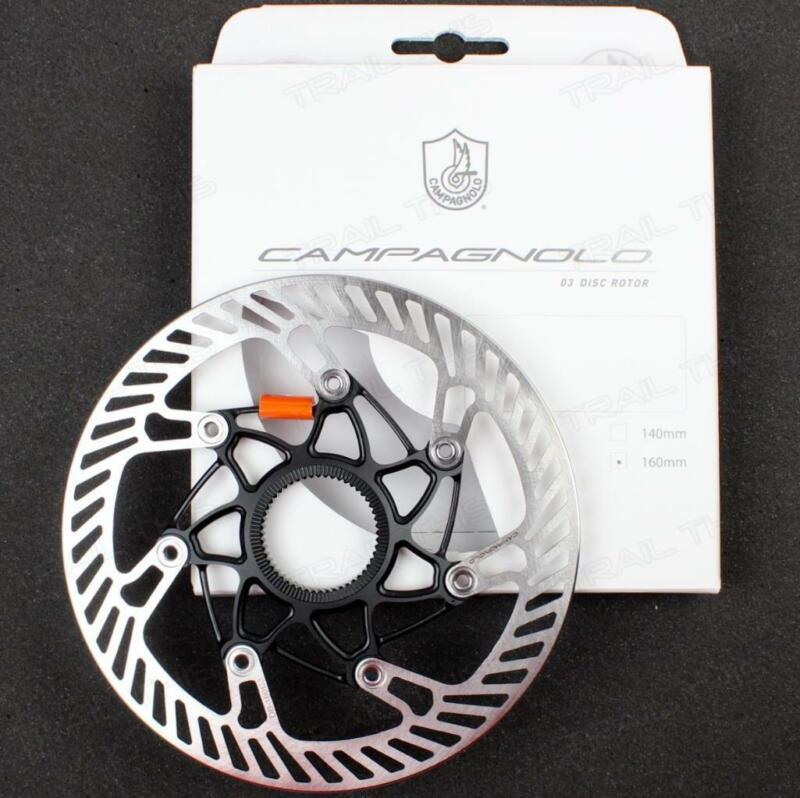 Campagnolo 03 AFS Super Record 160mm Road Bicycle Disc Brake Rotor Rounded Edge