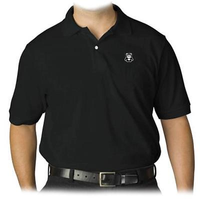 NEW MENS PRINTED CUTE BABY BEAR COLLAR POLO GOLF T-SHIRT FUNNY MMA HIP HOP (Baby Golf Golf T-shirt)