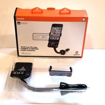 GRIFFIN RoadTrip FM Transmitter & Auto Charger for Apple iPod and